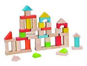 Bild von 50 Holz-Bausteine