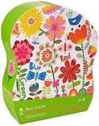 Bild von Blumen 24 Teile Puzzle in Silhouettensch