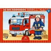 Bild von Das rote Feuerwehrauto