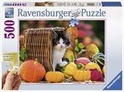 Bild von 500 Teile Kätzchen im Herbst. Gold Editi