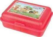Bild von Brotdose Erdbeerinchen mit Karren (rot)